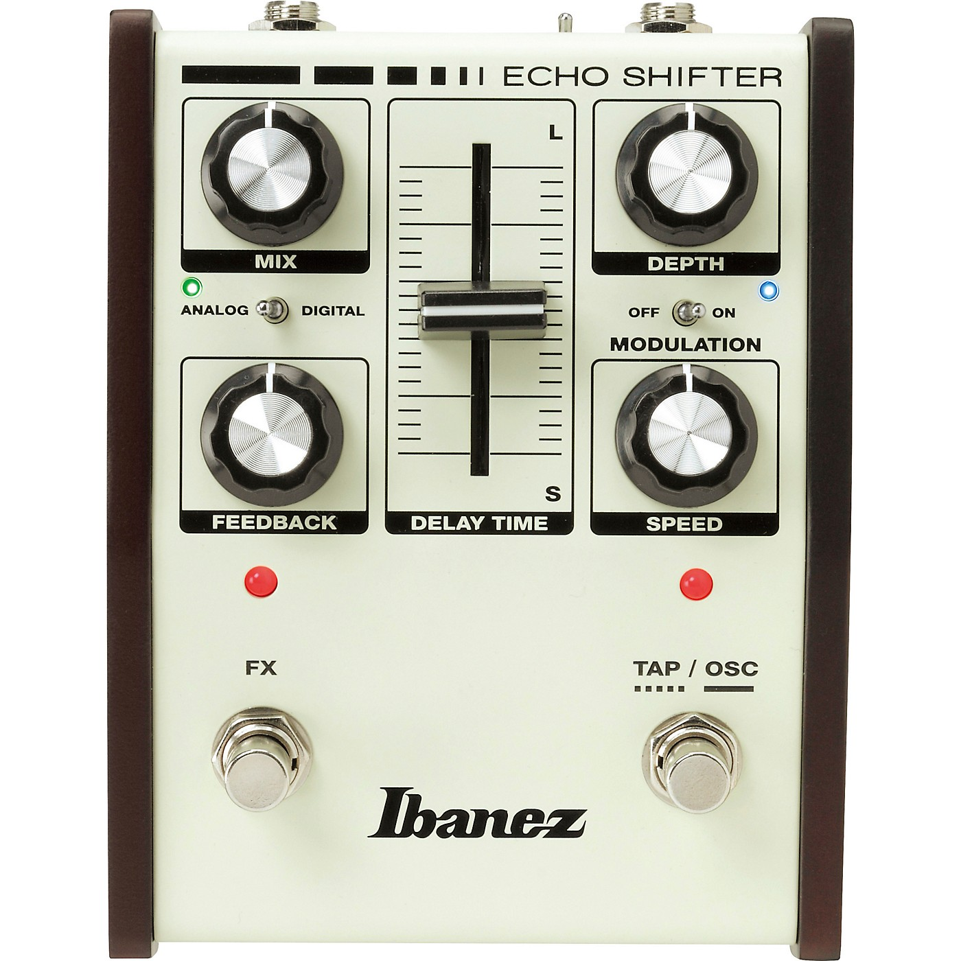 Ibanez Echo Shifter Hybrid Delay with Modulation Guitar Effects Pedal thumbnail