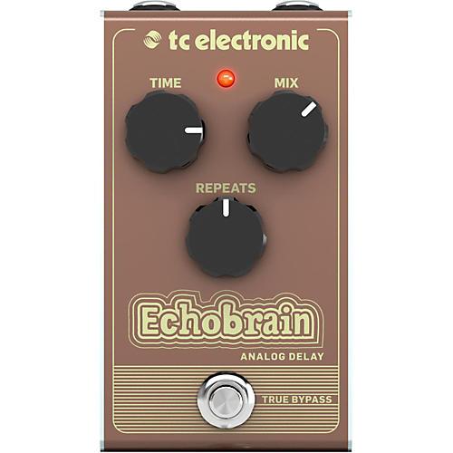 TC Electronic Echobrain Analog Delay Effect Pedal thumbnail