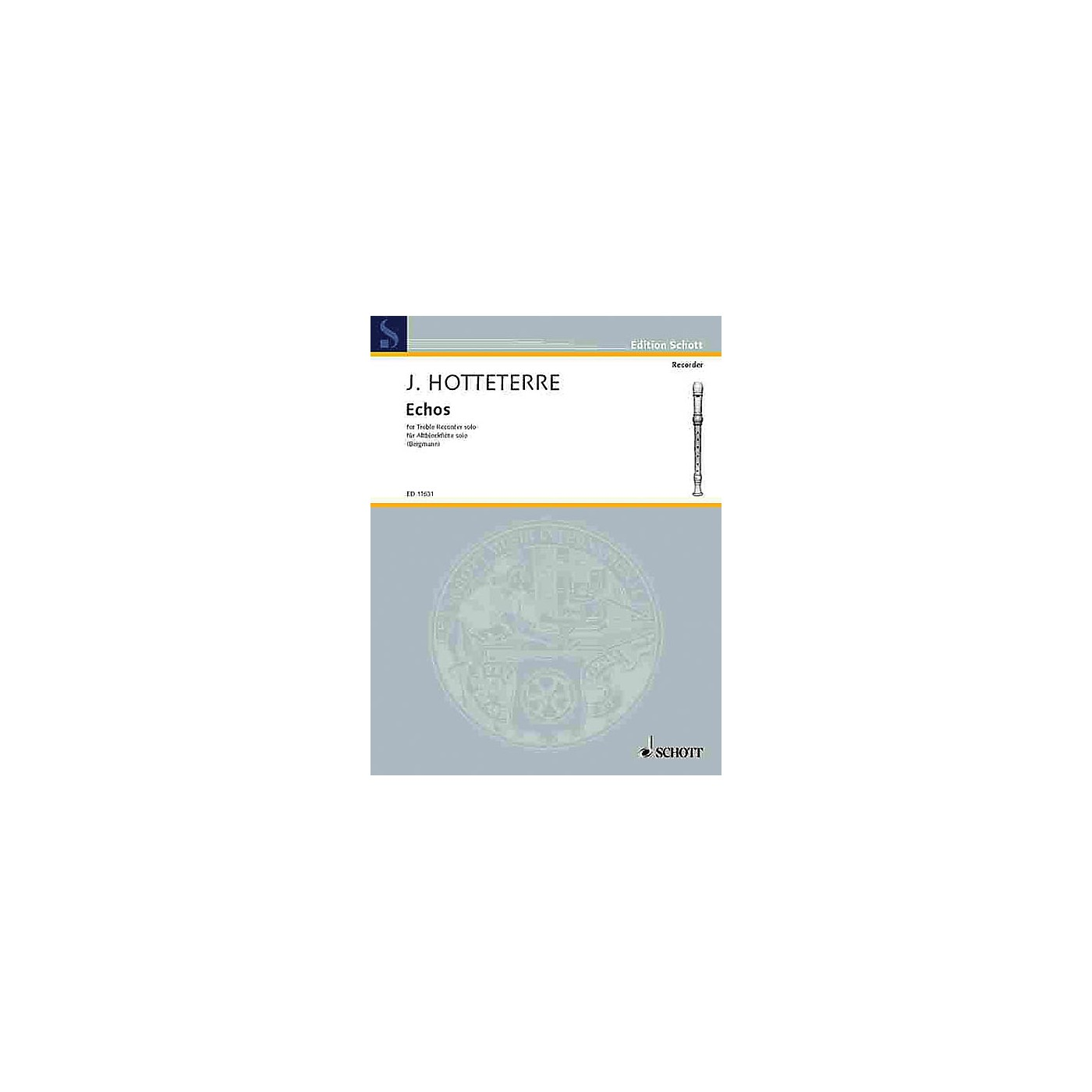 Schott Echoes (Alto Recorder) Schott Series thumbnail