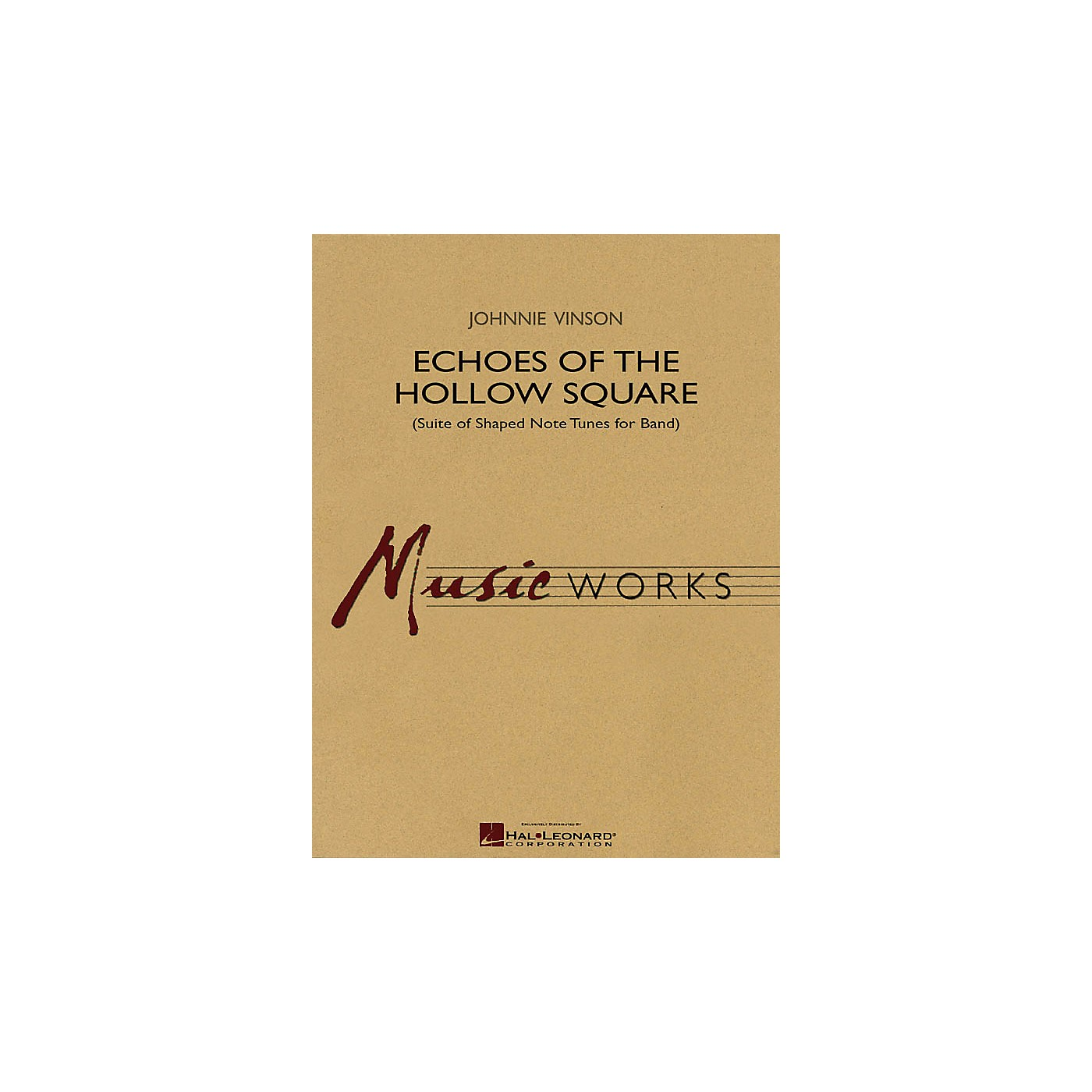 Hal Leonard Echoes of the Hollow Square (Suite of Shaped Note Tunes for Band) Concert Band Level 4 by Johnnie Vinson thumbnail