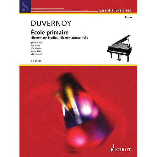 Hal Leonard Ecole Primaire Elementary Studies Op. 176 For Piano thumbnail