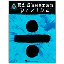 Hal Leonard Ed Sheeran - Divide (Accurate Tab Edition) Guitar Recorded Version Series Softcover by Ed Sheeran