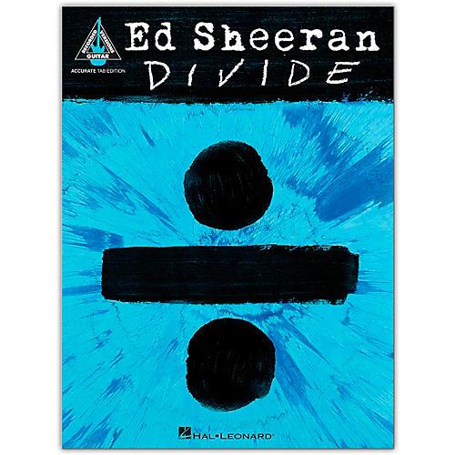 Hal Leonard Ed Sheeran - Divide (Accurate Tab Edition) Guitar Recorded Version Series Softcover by Ed Sheeran thumbnail