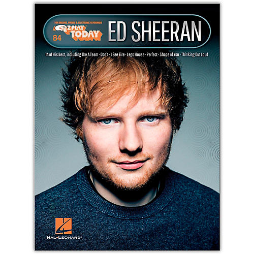 Hal Leonard Ed Sheeran E-Z Play Today Volume 32 thumbnail