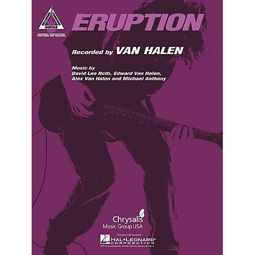 Hal Leonard Eddie Van Halen Eruption Guitar Tab thumbnail