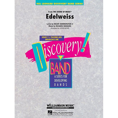 Hal Leonard Edelweiss Concert Band Level 1 1/2 Arranged by John Moss thumbnail