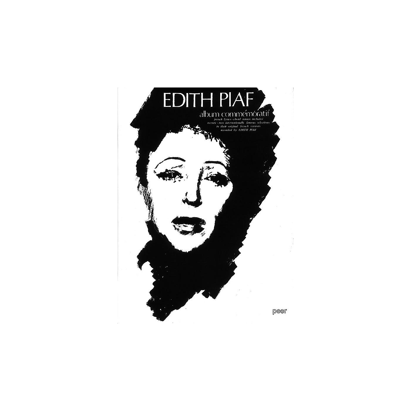 Hal Leonard Edith Piaf Album Commemor Peer Music Series thumbnail