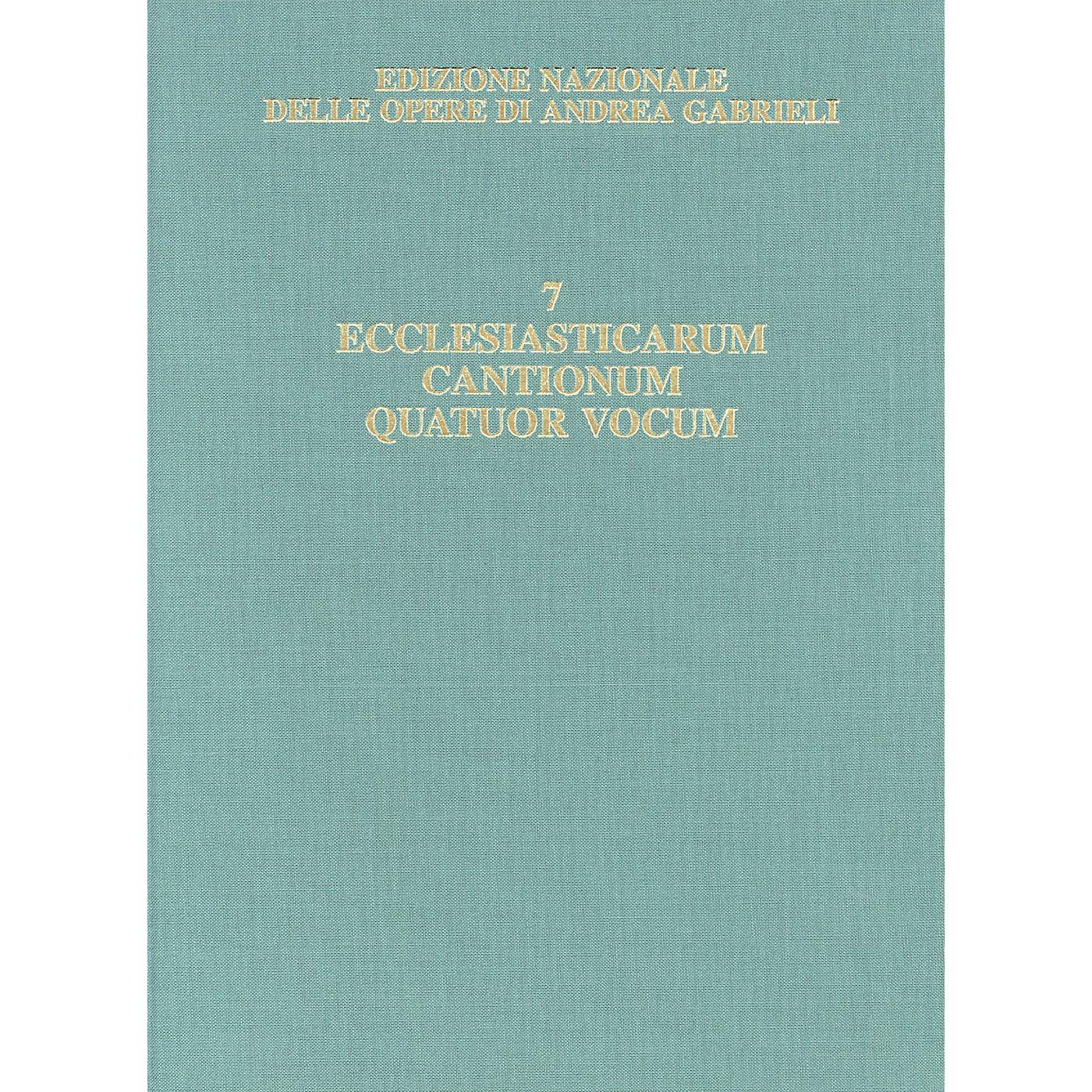 Ricordi Edizione Nazionale Delle Opere Di Andrea Gabrieli - Volume 7 Score Composed by Andrea Gabrieli thumbnail