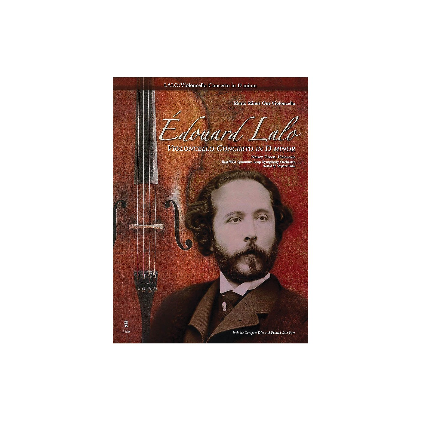 Music Minus One Edouard Lalo - Violoncello Concerto in D minor Music Minus One Series Softcover with CD by Edouard Lalo thumbnail