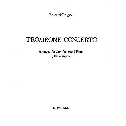 Music Sales Edward Gregson: Concerto For Trombone Music Sales America Series thumbnail
