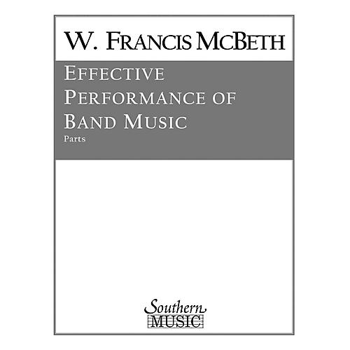 Southern Effective Performance of Band Music (Band/Band Methods) Concert Band Level 2 by W. Francis McBeth thumbnail