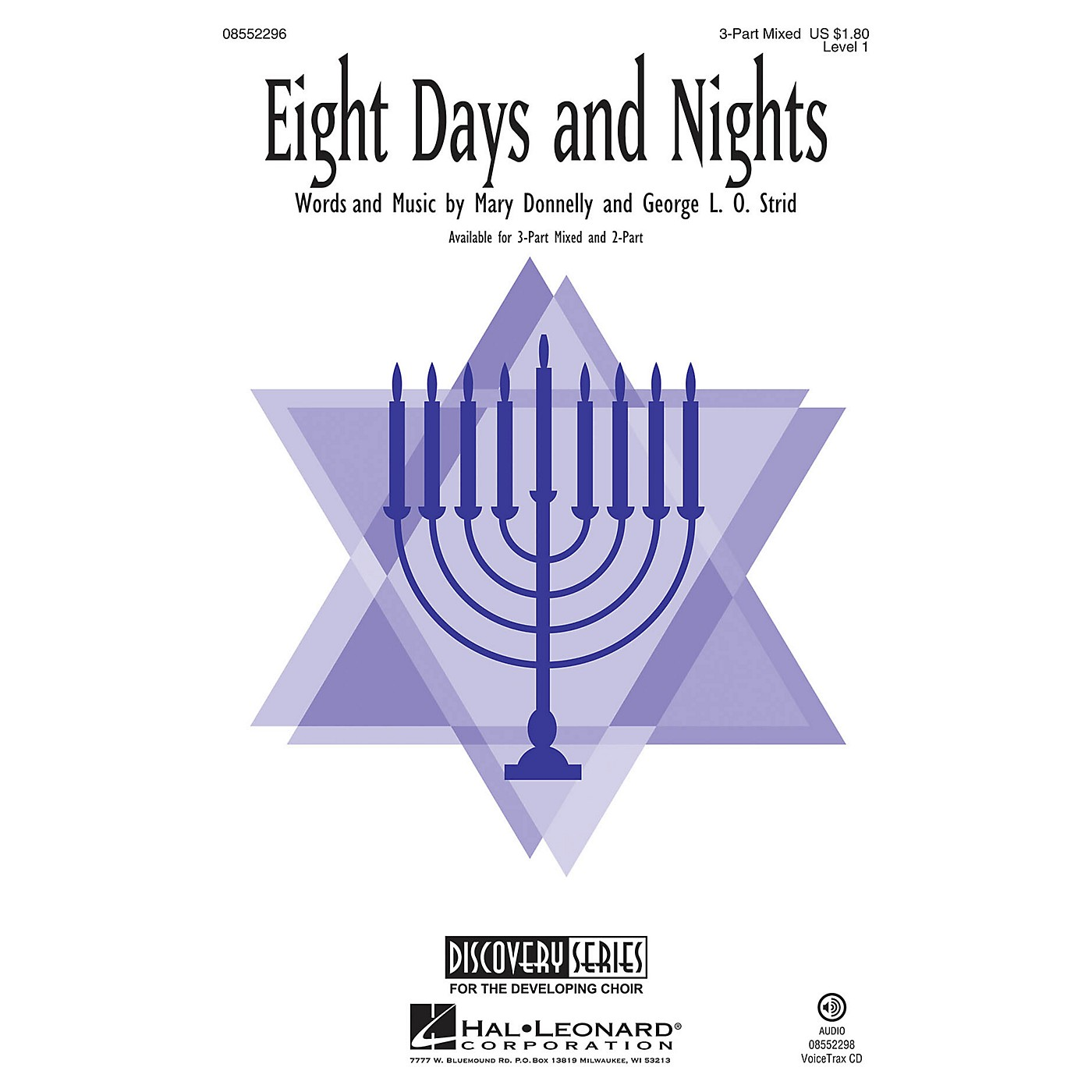 Hal Leonard Eight Days and Nights (Discovery Level 1) VoiceTrax CD Composed by Mary Donnelly thumbnail