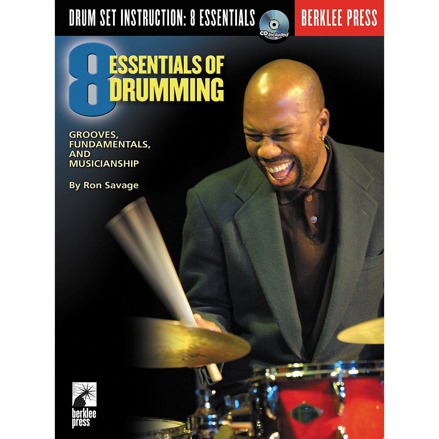 Berklee Press Eight Essentials of Drumming (Book/CD) thumbnail