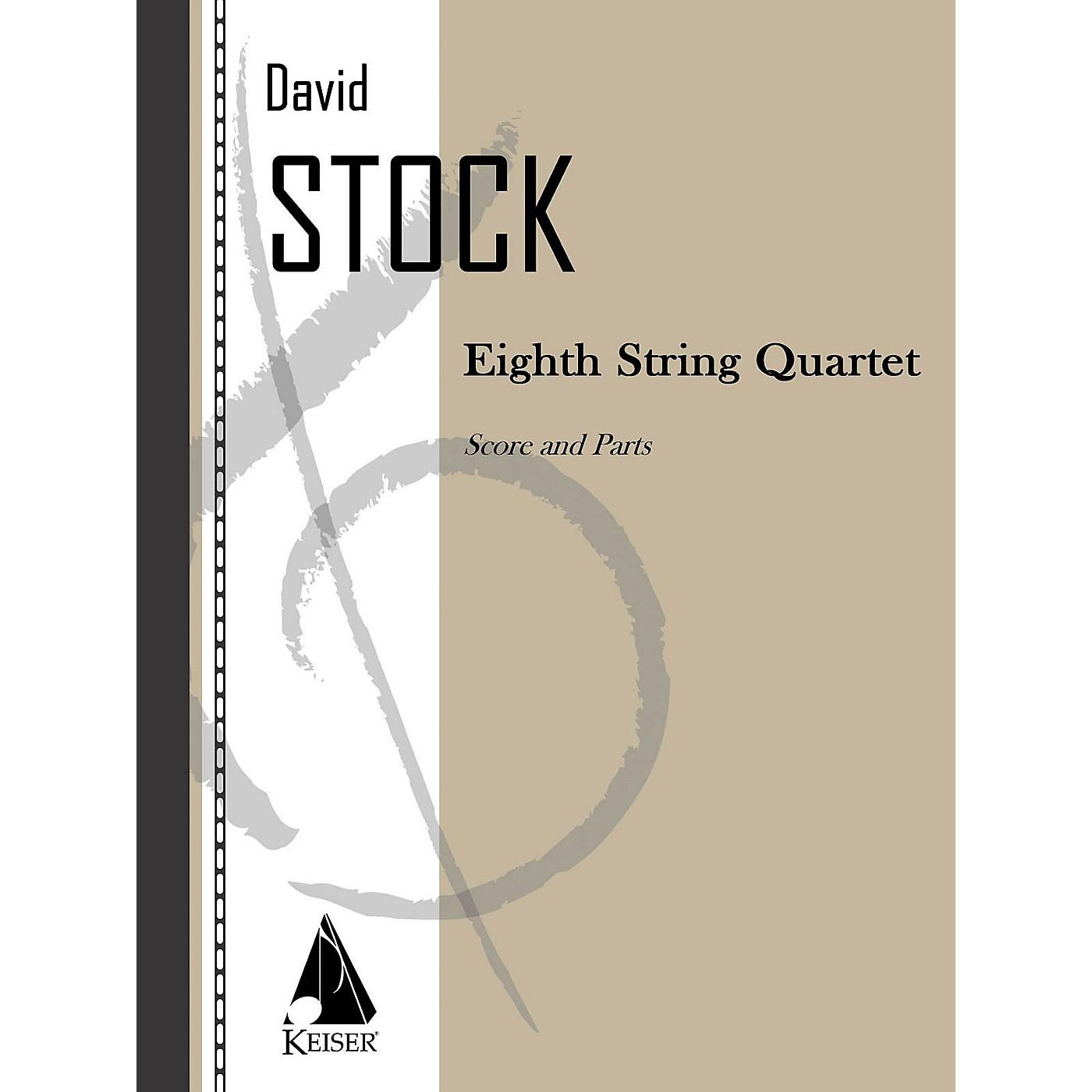 Lauren Keiser Music Publishing Eighth String Quartet LKM Music Series by David Stock thumbnail
