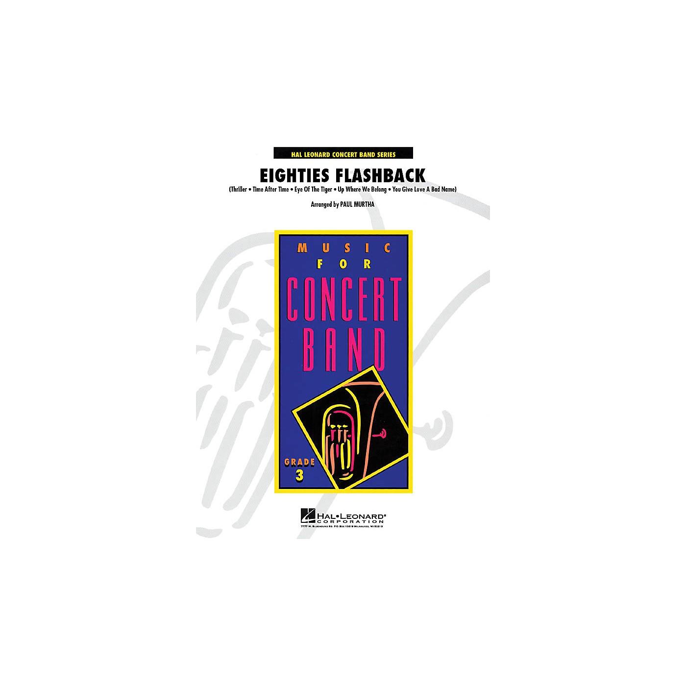 Hal Leonard Eighties Flashback - Young Concert Band Series Level 3 arranged by Paul Murtha thumbnail
