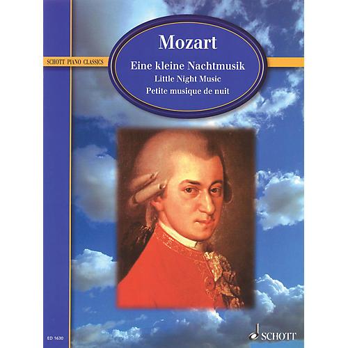 Schott Eine kleine Nachtmusik K. 525 (Serenade) Schott Series Softcover thumbnail