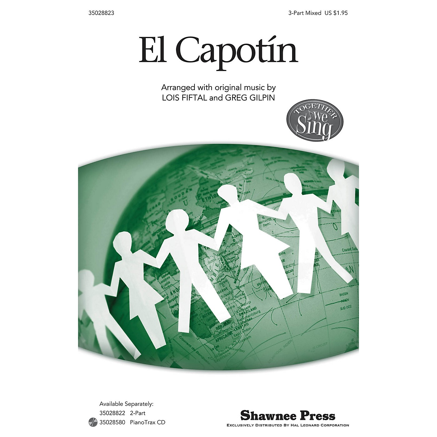 Shawnee Press El Capotín (Together We Sing Series) 3-Part Mixed arranged by Lois Fiftal thumbnail