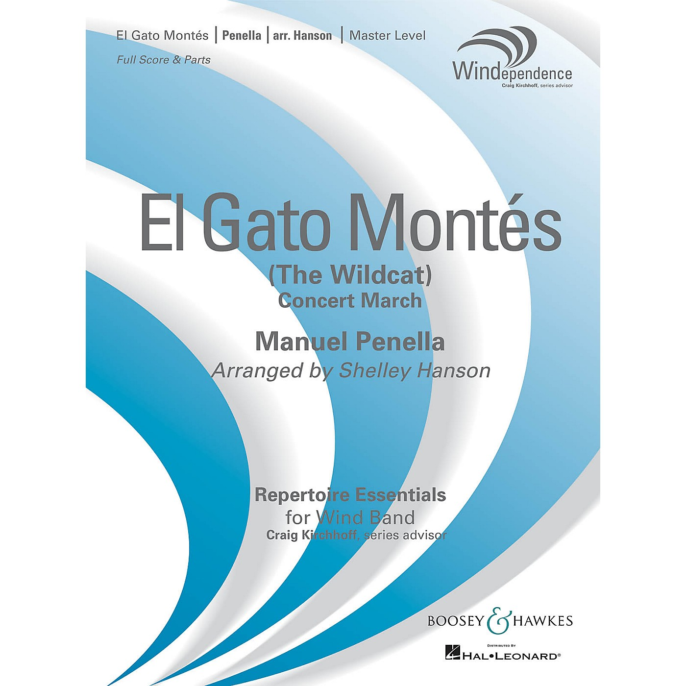 Boosey and Hawkes El Gato Montés (The Wild Cat) Concert Band Level 4 Composed by Manuel Penella Arranged by Shelley Hanson thumbnail