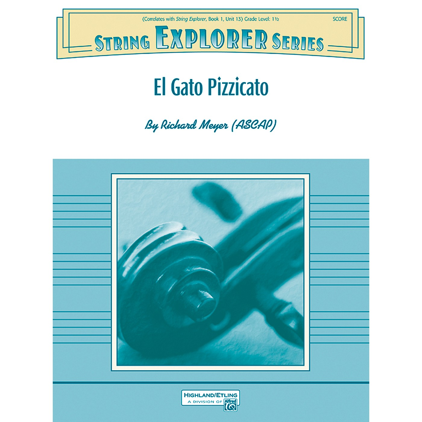 Alfred El Gato Pizzicato String Orchestra Grade 1.5 Set thumbnail
