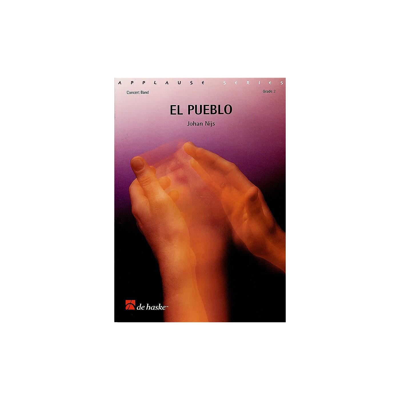 De Haske Music El Pueblo Concert Band Level 2 Composed by Johan Nijs thumbnail