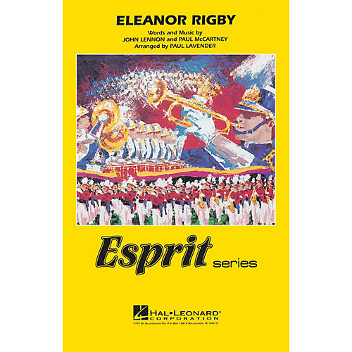Hal Leonard Eleanor Rigby Marching Band Level 3 by The Beatles Arranged by Paul Lavender thumbnail