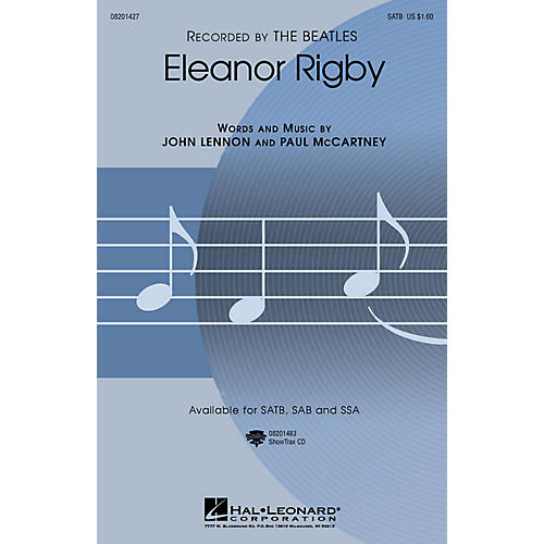 Hal Leonard Eleanor Rigby (SATB) SATB by The Beatles arranged by Roger Emerson thumbnail