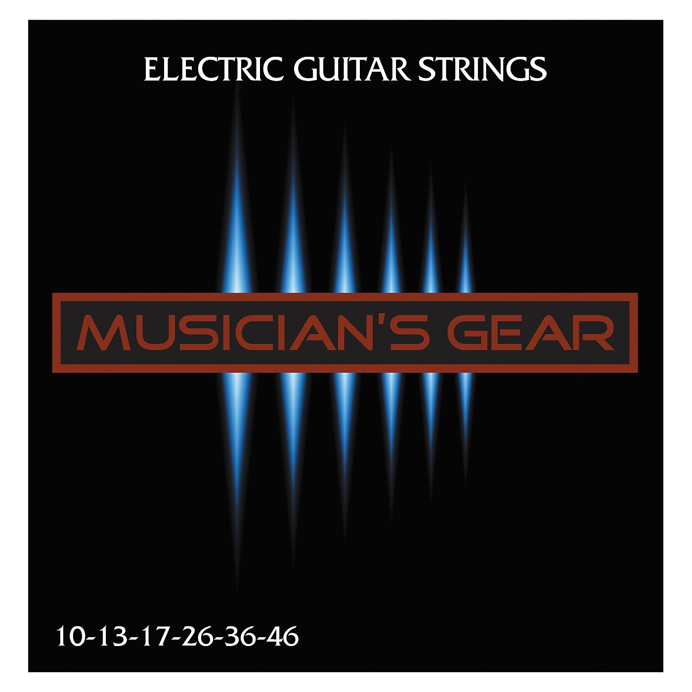 Musician's Gear Electric 10 Nickel Plated Steel Guitar Strings thumbnail