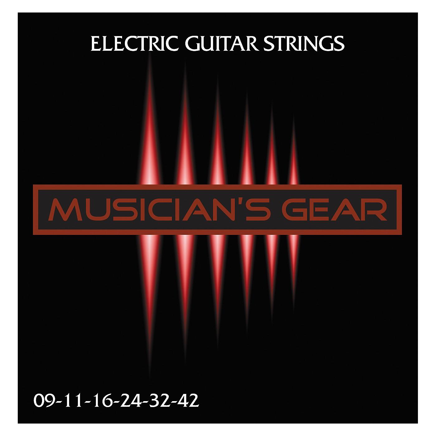 Musician's Gear Electric 9 Nickel Plated Steel Guitar Strings thumbnail