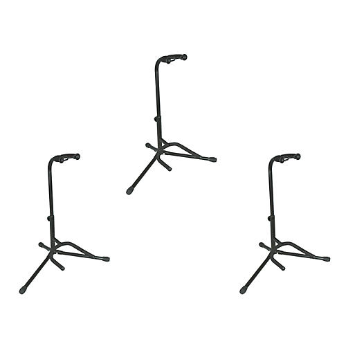 Musician's Gear Electric, Acoustic and Bass Guitar Stands (3-Pack) thumbnail