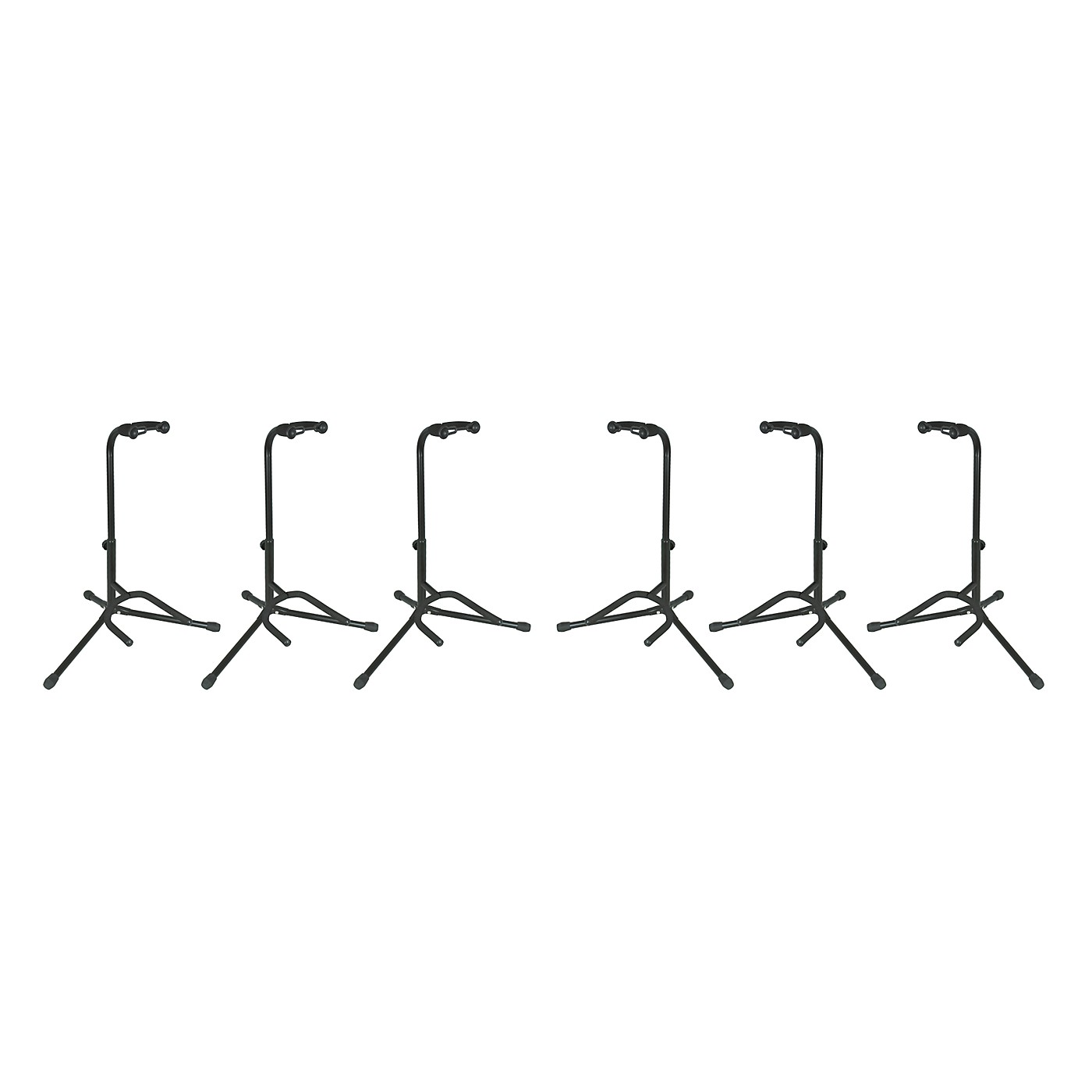 Musician's Gear Electric, Acoustic and Bass Guitar Stands (6-Pack) thumbnail