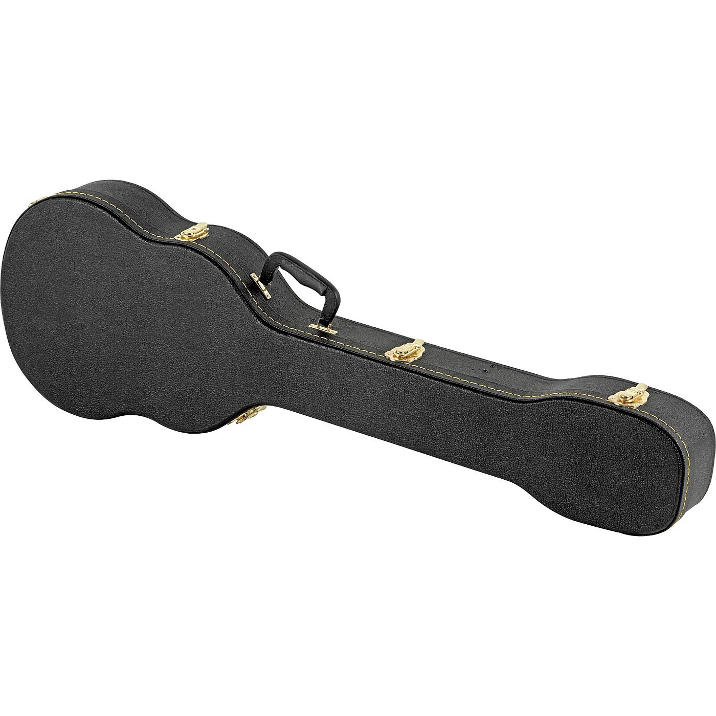 Musician's Gear Electric Bass Case Violin Shaped thumbnail