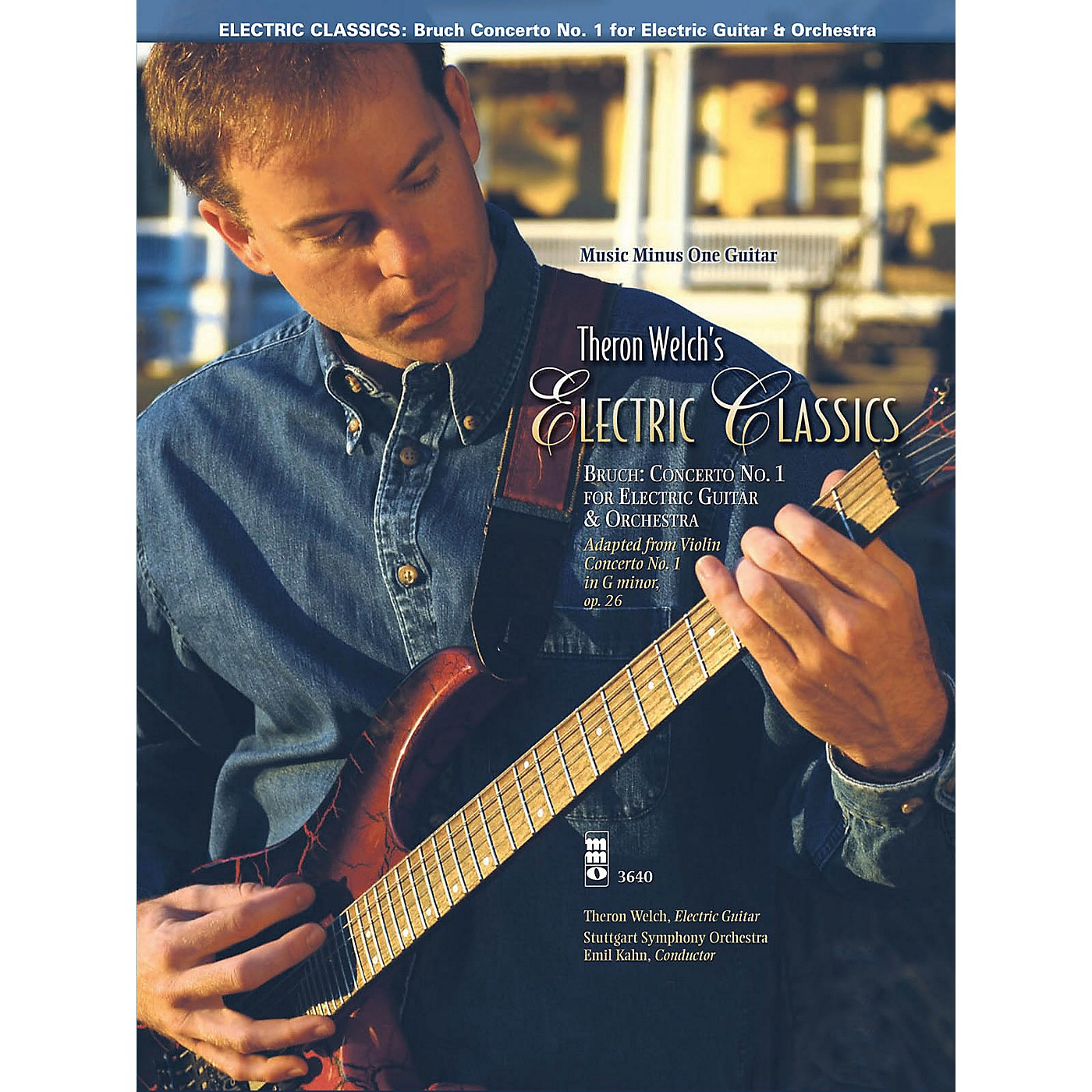 Music Minus One Electric Classics - Bruch Concerto No. 1 for Guitar Music Minus One Series Softcover with CD thumbnail