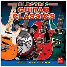 Browntrout Publishing Electric Guitar Classics 2018 Wall Calendar