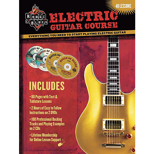 House of Blues Electric Guitar Course DVD thumbnail