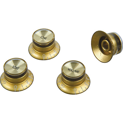 Proline Electric Guitar Top Hat Style Knobs 4-Pack-thumbnail