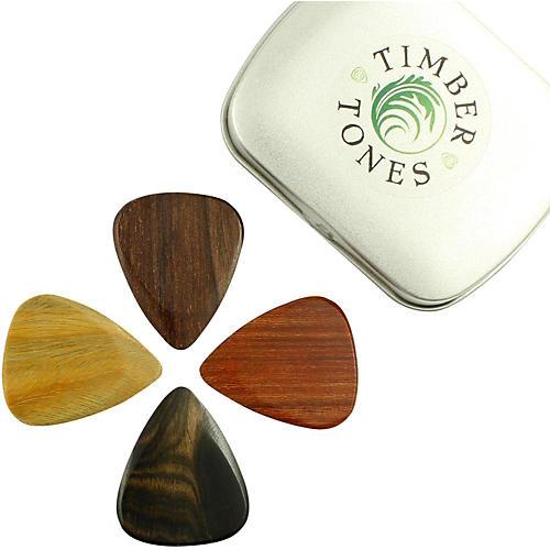 Timber Tones Electric Mixed Tin of 4 Guitar Picks thumbnail
