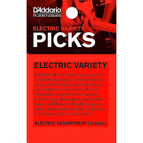 D'Addario Electric Pick Variety 13-Pack thumbnail