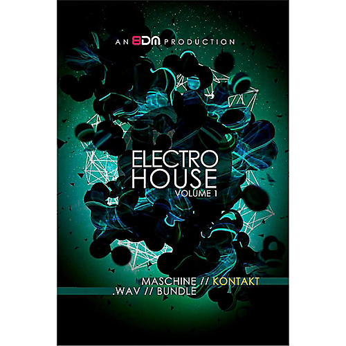 8DM Electro House Vol 1 for Kontakt thumbnail