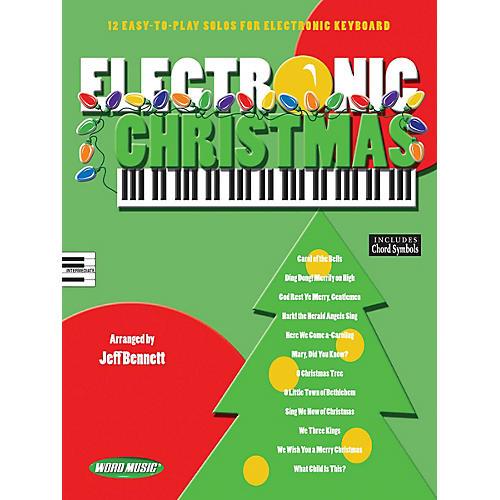 Word Music Electronic Christmas Sacred Folio Series thumbnail