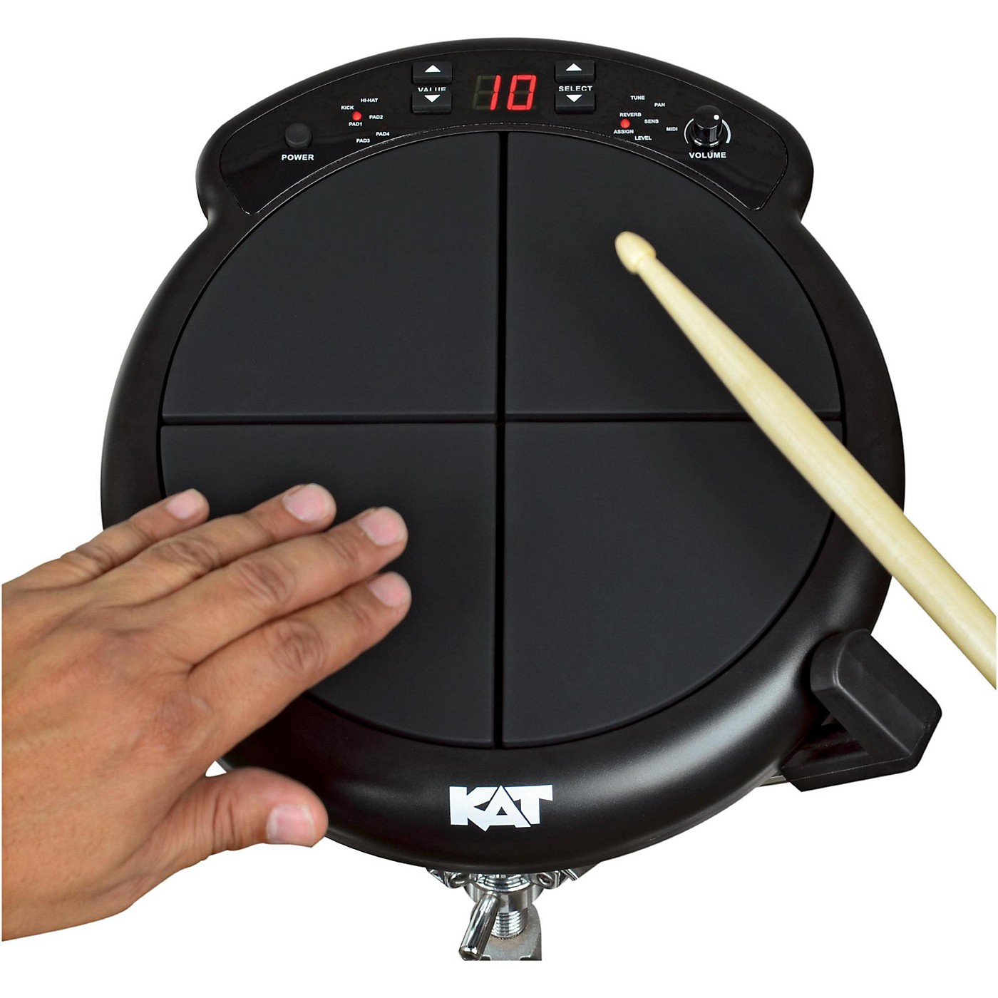 KAT Percussion Electronic Drum and Percussion Pad Sound Module thumbnail