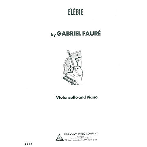 Boston Music Elegie (for Cello and Piano) Music Sales America Series thumbnail