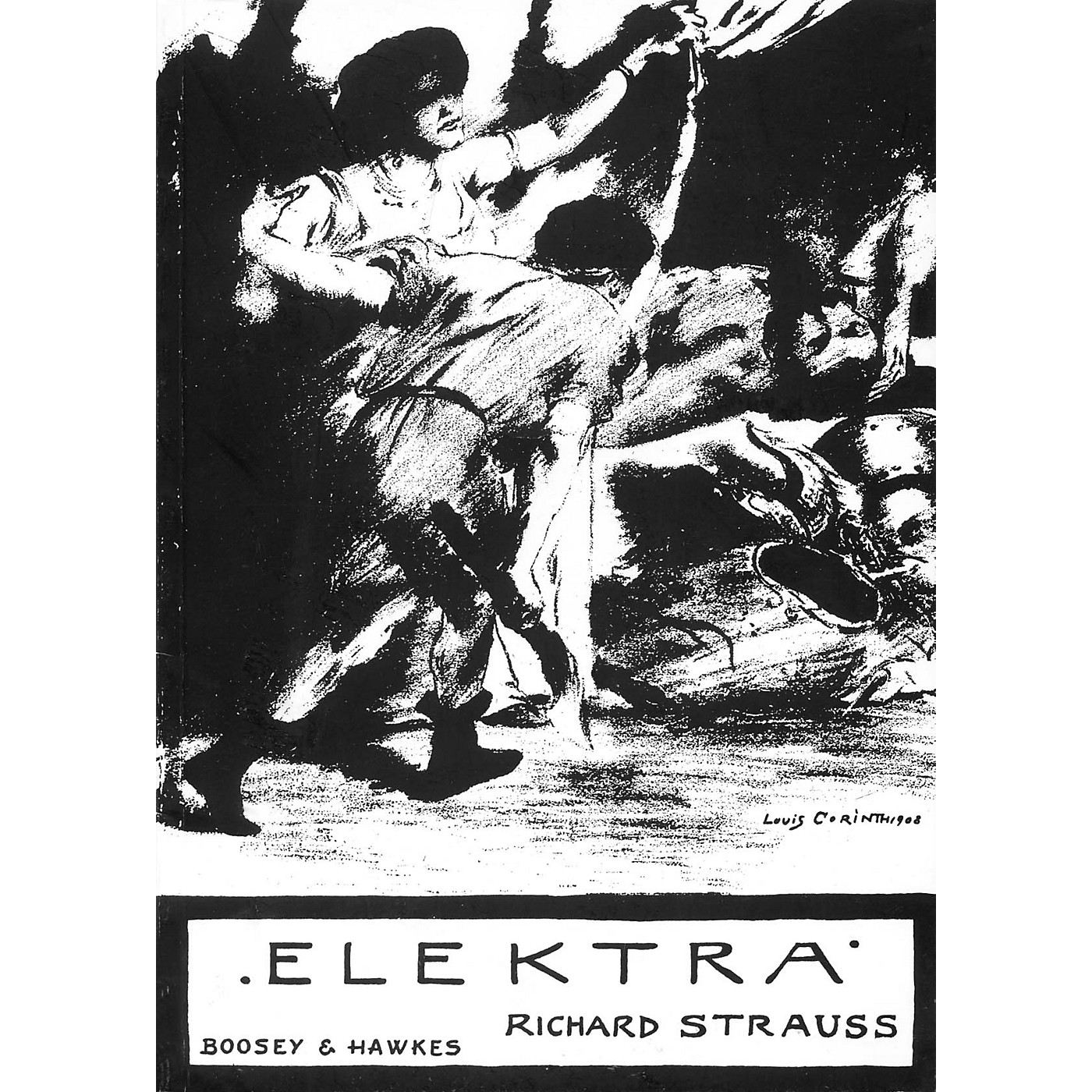 Boosey and Hawkes Elektra, Op. 58 (Tragedy in One Act) BH Stage Works Series  by Richard Strauss thumbnail