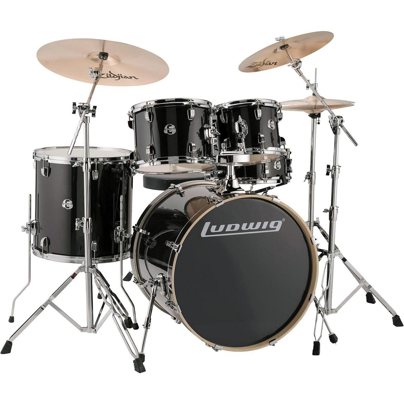 Ludwig Element Evolution 5-piece Drum Set with 22