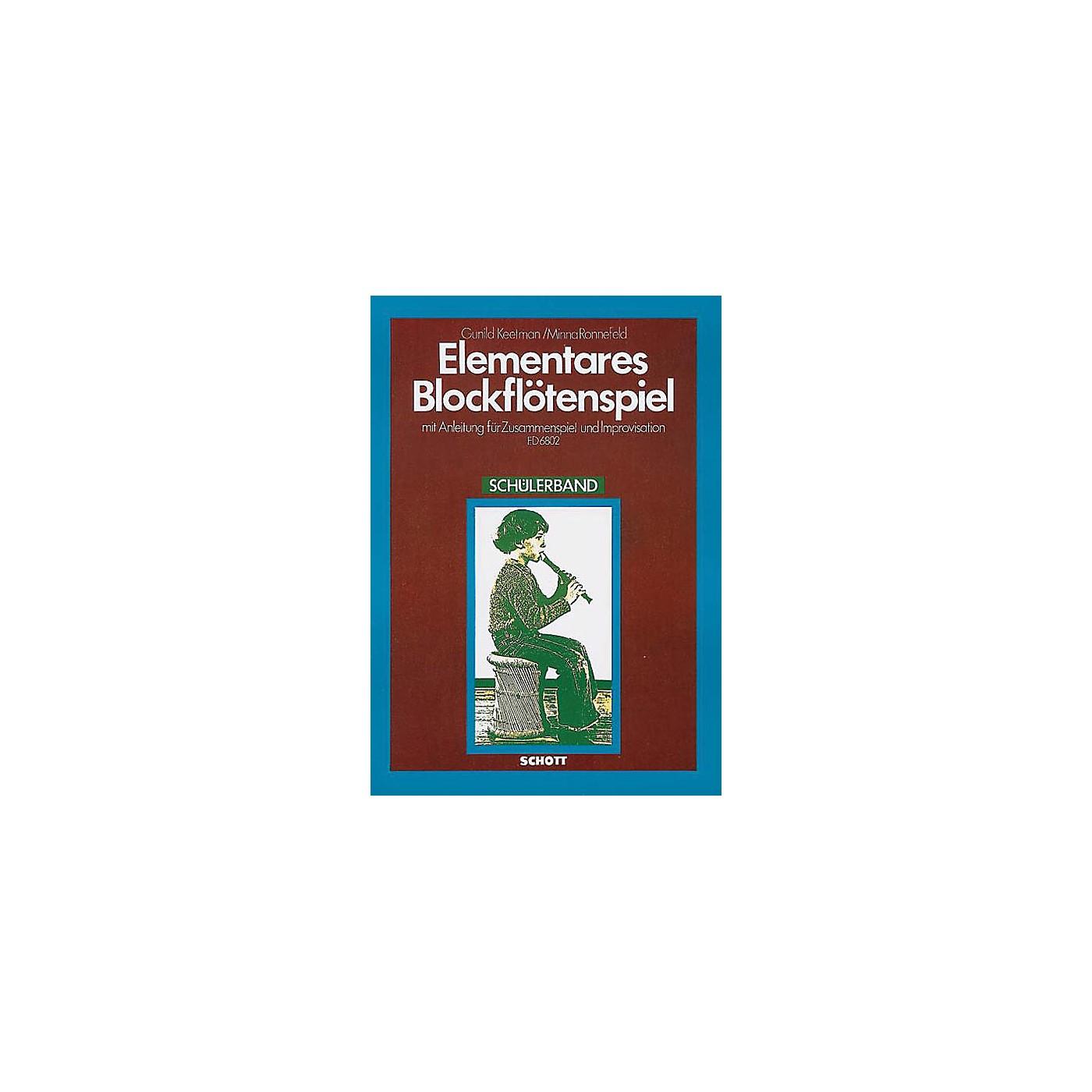 Schott Elementary Blockflotenspielstudent Schott Series thumbnail
