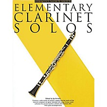 Music Sales Elementary Clarinet Solos (Everybody's Favorite Series, Volume 33) Music Sales America Series