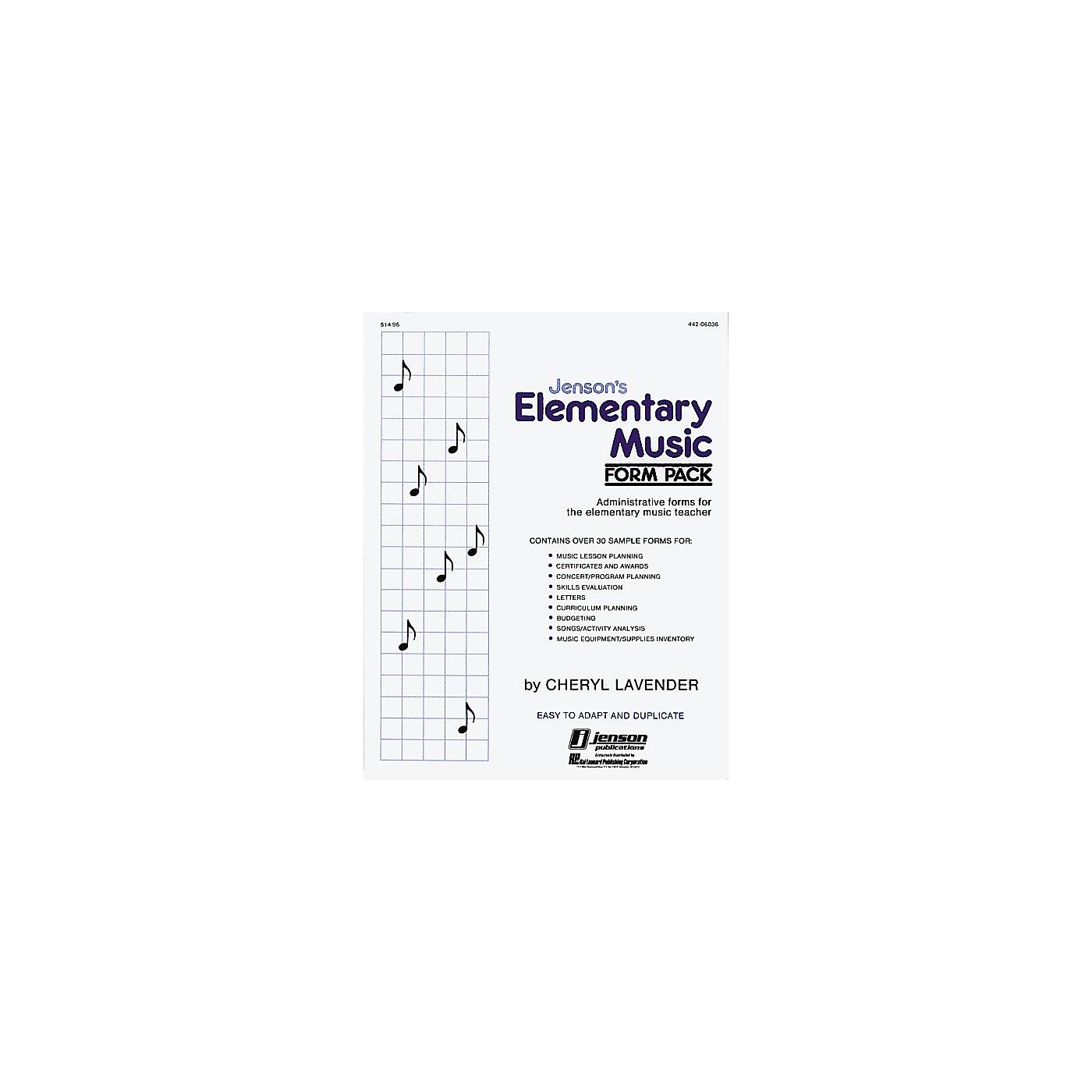 Hal Leonard Elementary Music form Pack thumbnail