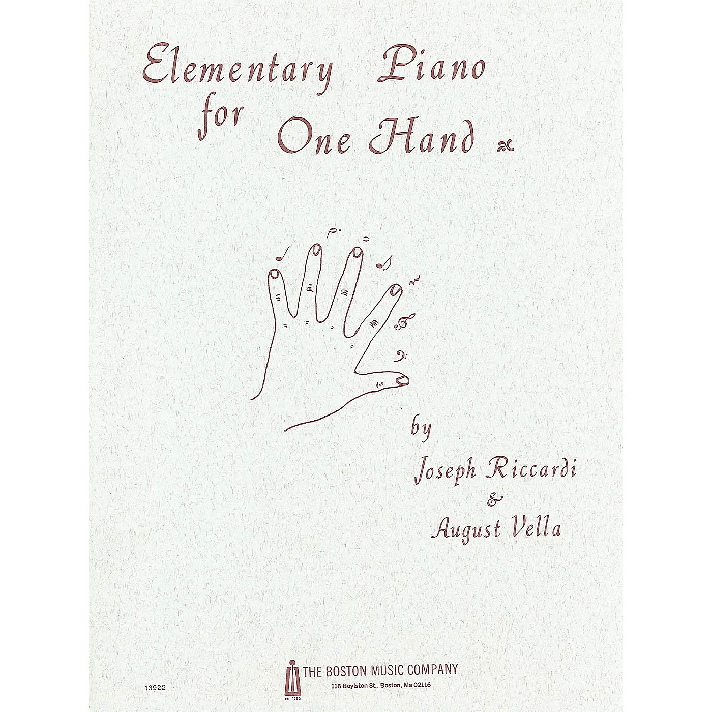 Music Sales Elementary Piano for 1 Hand Music Sales America Series thumbnail