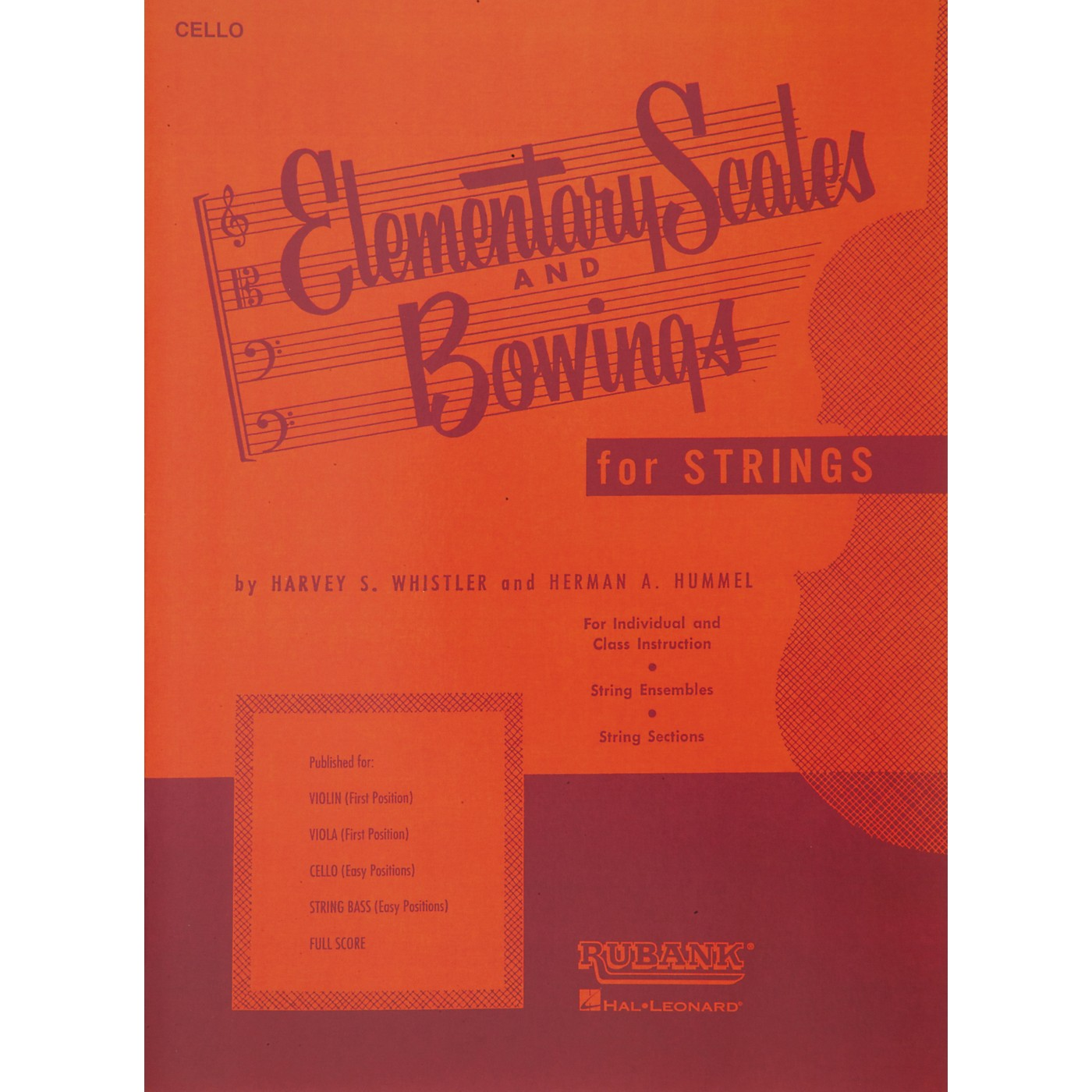 Hal Leonard Elementary Scales And Bowings - Cello thumbnail