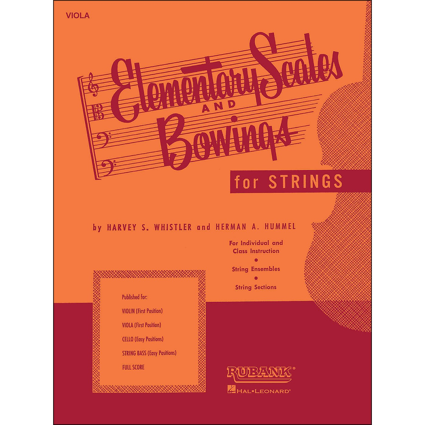 Hal Leonard Elementary Scales And Bowings - Viola thumbnail