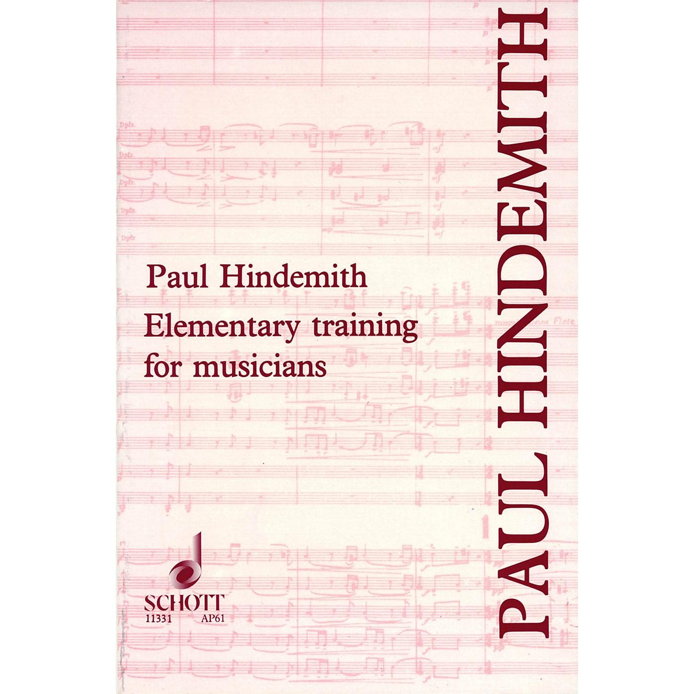 Schott Elementary Training for Musicians Schott Series thumbnail